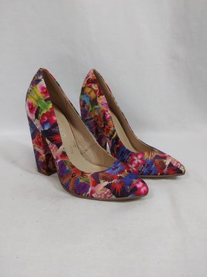 Invito Tropical block heels - colorful
