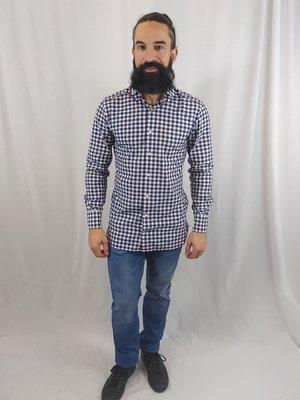 Suitsupply Checkered shirt - blue white