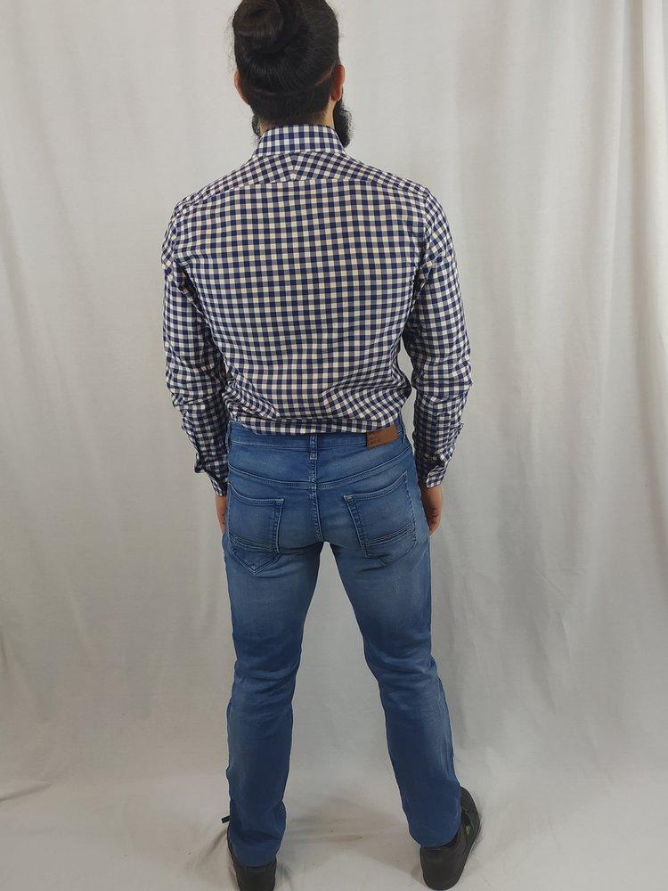 Blue Ridge Denim jeans - blauw wassing (34/34)