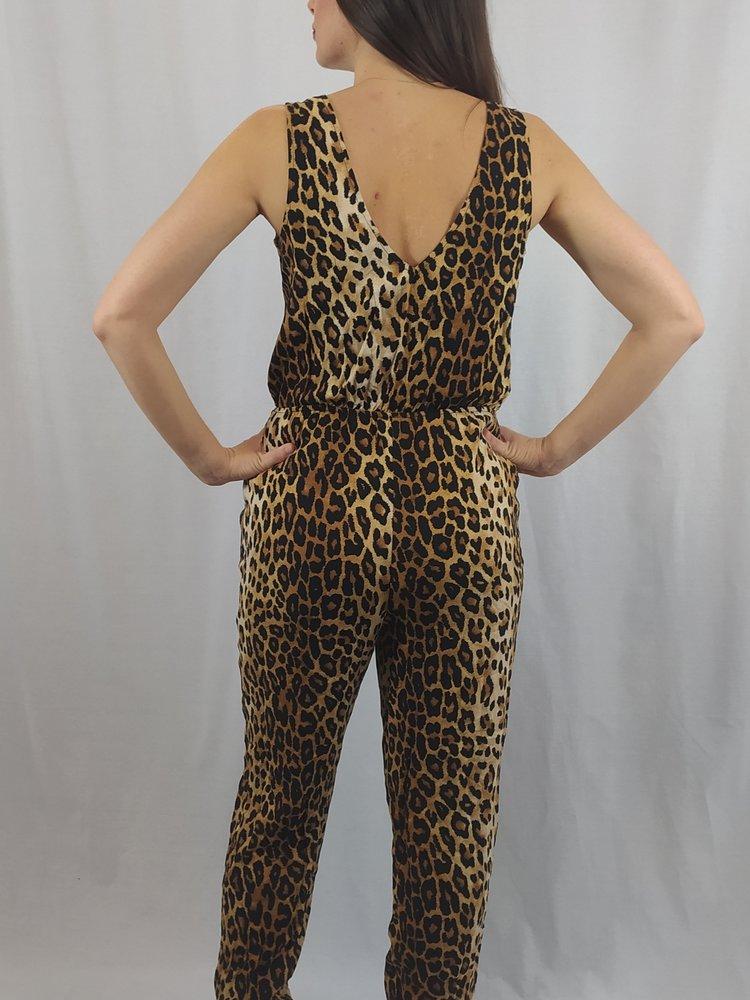 Forever 21 Panterprint jumpsuit