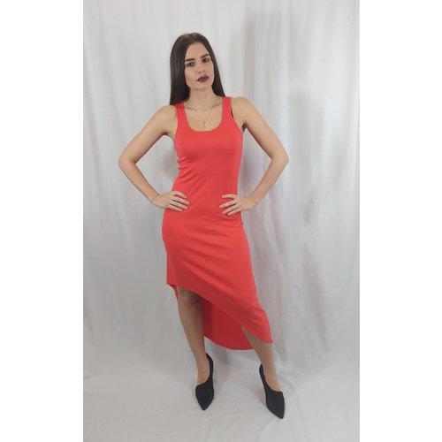 Michael Kors Asymmetrical summer dress - red