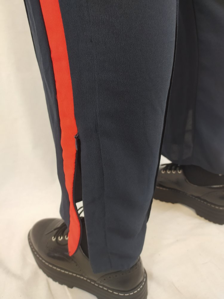 H&M Sporty broek - blauw rood