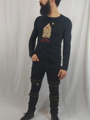 Moschino Moschino longsleeve shirt - zwart