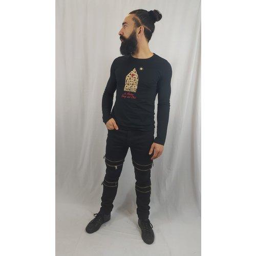 Moschino Moschino longsleeve shirt - black