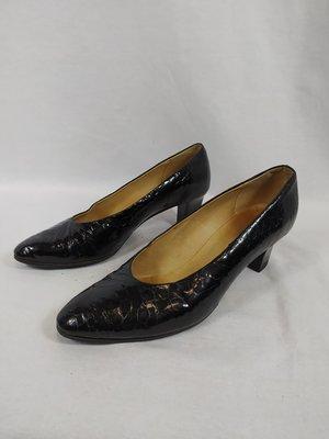 Romano Vintage lage pumps - zwart