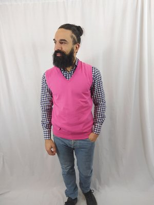 Hugo Boss Knitted vest - pink