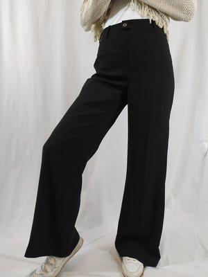 Zara Flared pantalon - zwart