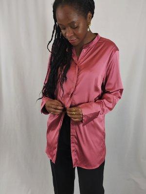 H&M Shiny blouse - roze