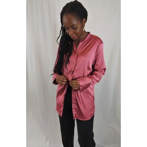 H&M Shiny blouse - pink
