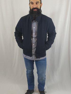 McGregor Jacket - dark blue elbow pads