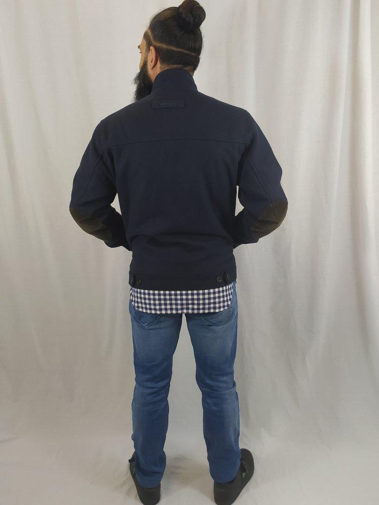McGregor Jas - donker blauw elleboogpads