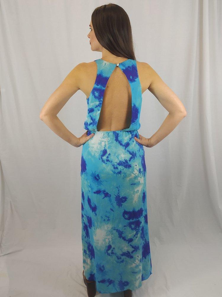 Forever 21 Oceaan maxi jurk - blauw