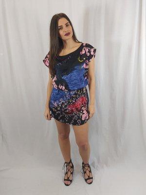 H&M Colorful dress - night pattern