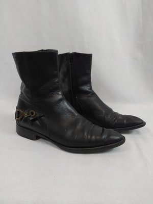 Handmade Handmade leather boots - black (37)