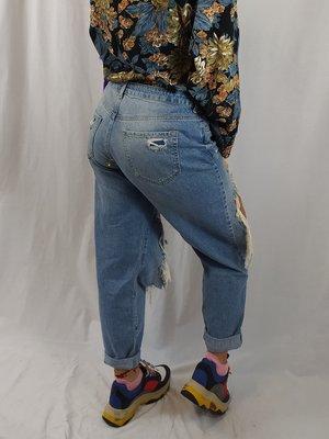 Denim & Co Denim jeans - licht destroyed (42)