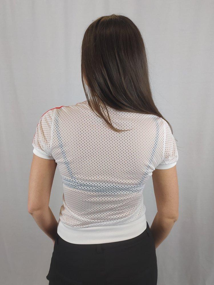 Adidas Adidas shirt - wit gaas