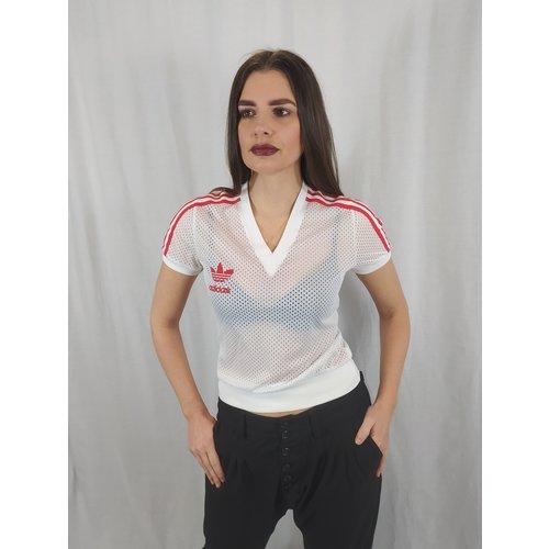 Adidas Adidas shirt - white mesh