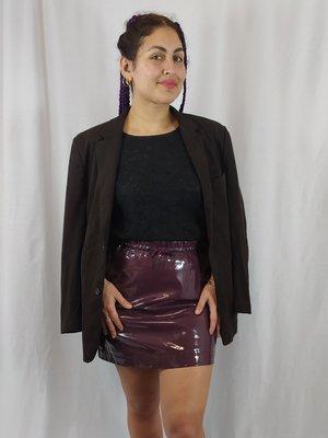 Vintage Vintage blazer - bruin suéde