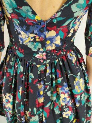Laura Ashley Vintage dress - colorful floral print