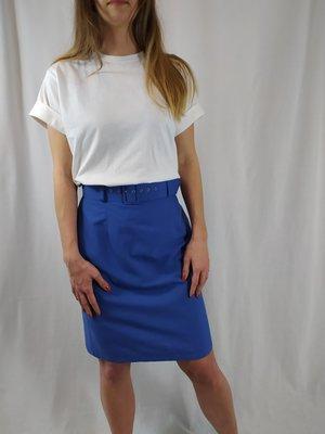 José de Wolff Vintage skirt - blue belt