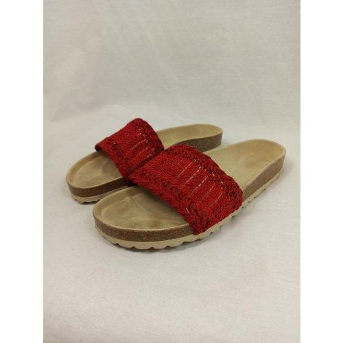 Oysho Gewoven slippers - rood (39)