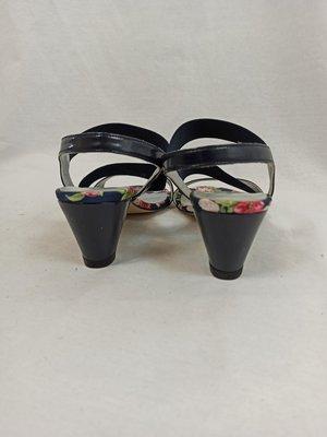 Via Mazoni Sandals with heels - blue (38)