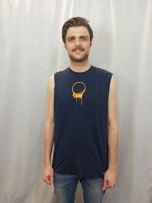 Nike Sleeveless T-shirt - blauw