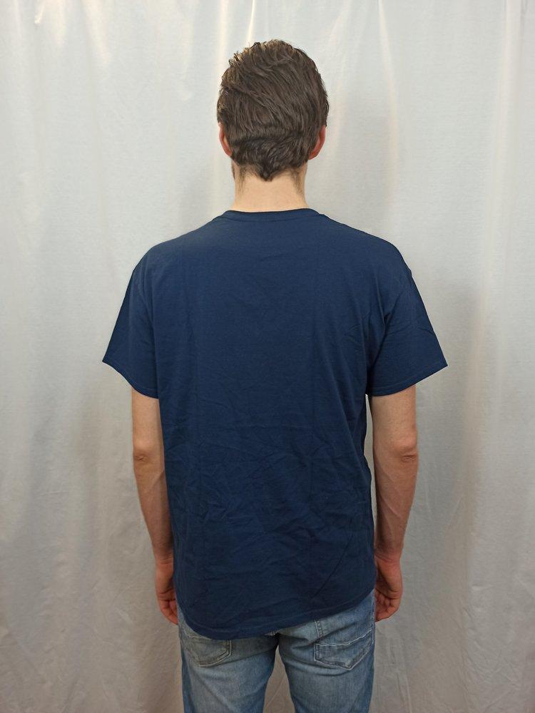 Unsupervised T-shirt - blauw