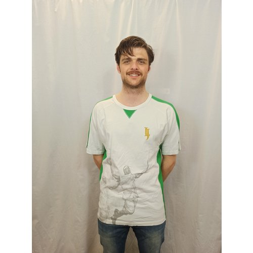 Nike Sport T-shirt - wit groen