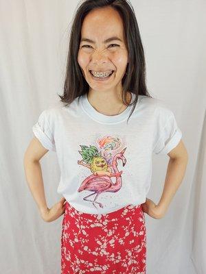 Artist T-shirt - white