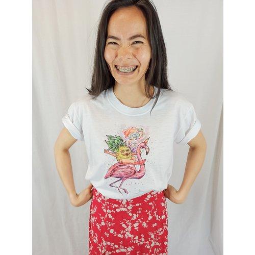 T-shirt artist print - wit