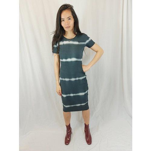 H&M T-shirt maxi-jurk - grijs