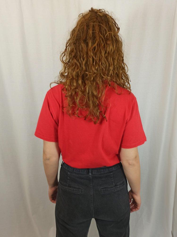 Pull & Bear Palm T-shirt - rood