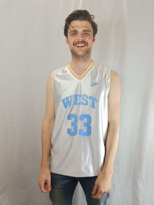 Nike Basketball Nike jersey - white