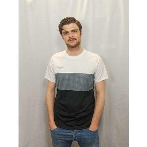 Nike Sports T-shirt - white black striped