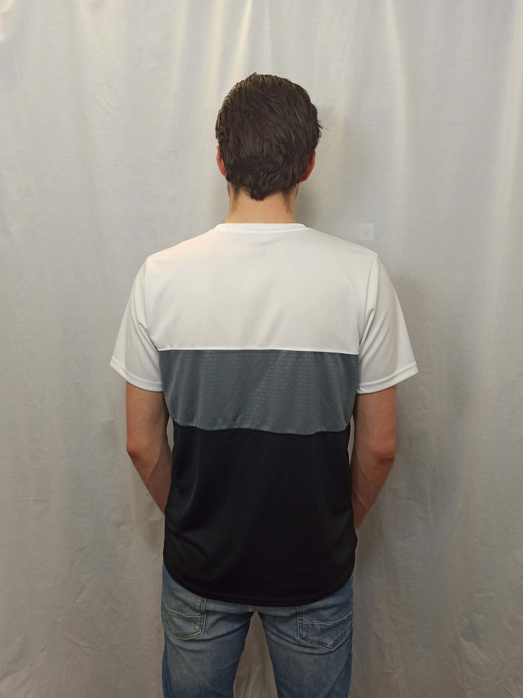 Nike Sport T-shirt - wit zwart gestreept
