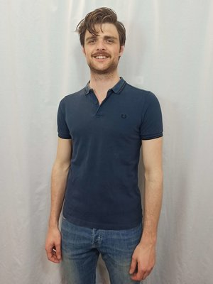 Fred Perry Polo T-shirt - blue