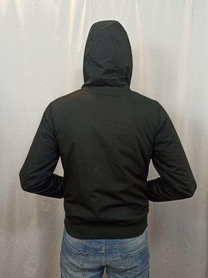 Element Outdoor jas - zwart gevoerd