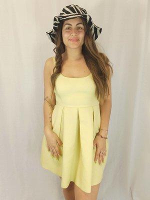 Zara Neon cocktail dress - yellow
