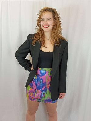 H&M Colorful skirt in multi-color