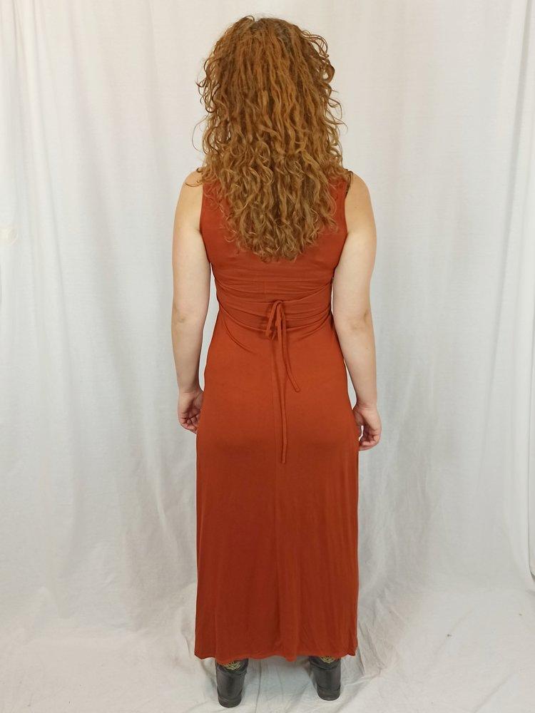 Dorothy Perkens Knoop maxi-jurk - koper