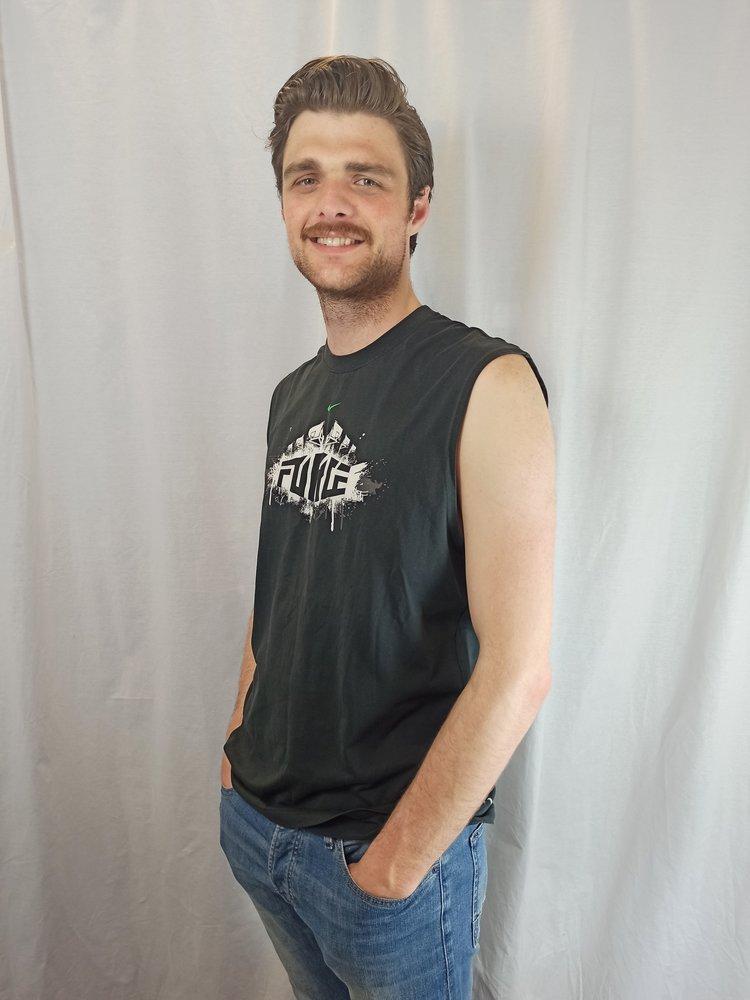 Nike Sleeveless T-shirt - zwart