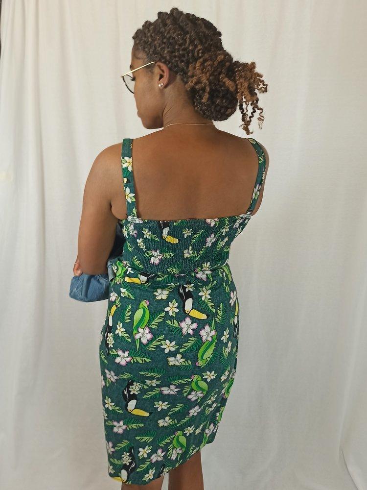 Tropical jurk - groen