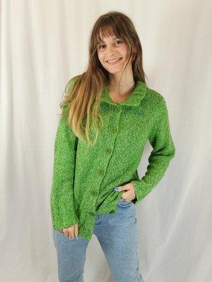 Vintage Vintage wool sweater - green