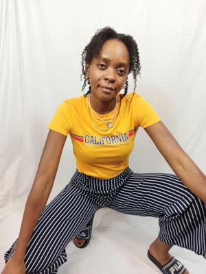 H&M California T-shirt - oranje