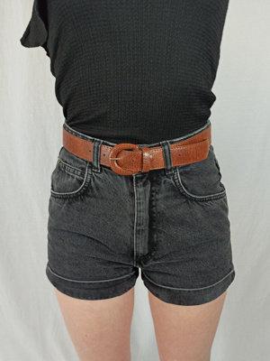 Zara High waist shorts - zwart