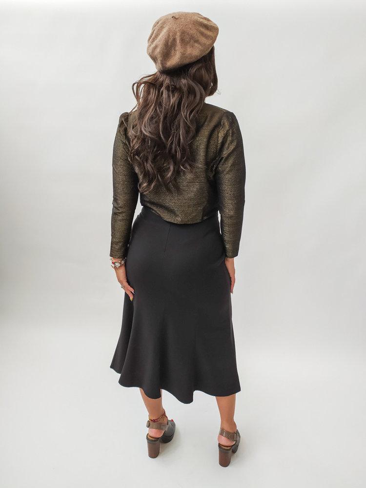 Short jacket - glitters