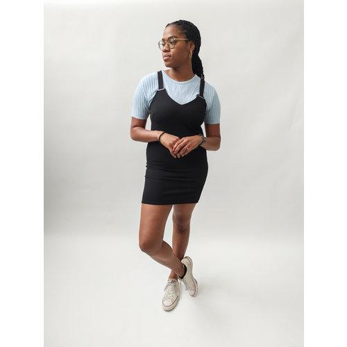 Dorothy perkins Short sleeveless dress - black