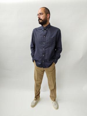H&M Cotton shirt - dark blue
