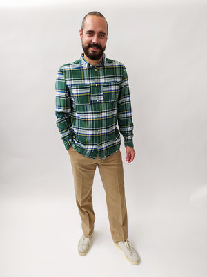 H&M Houthakkers overhemd - groen